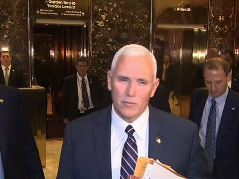 Pence: Transition Teams Start Agency Meetings