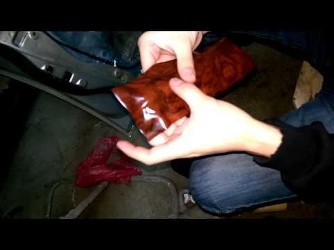 видео: Процесс затягивания плёнкой элемента салона