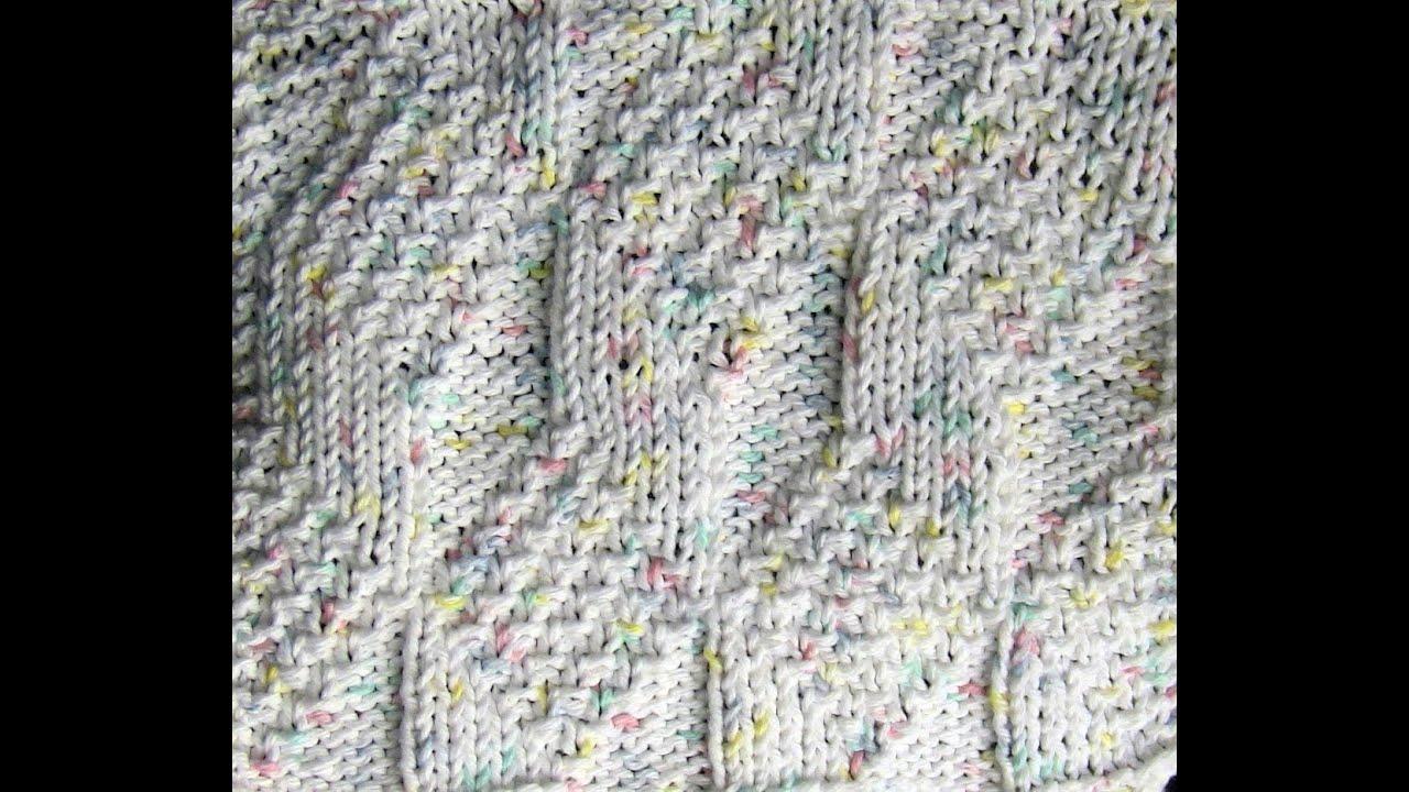 Knit along diamond and lozenge dishcloth youtube knit along diamond and lozenge dishcloth bankloansurffo Choice Image