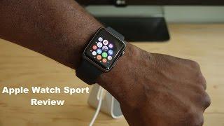 Apple Watch Sport Review 4K