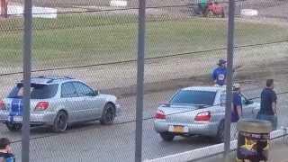 Brewerton Speedway 7/24/15 spectator race 1
