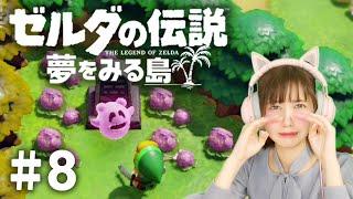 YouTube動画:ゆきりぬのゼルダの伝説 夢をみる島【実況】 #8