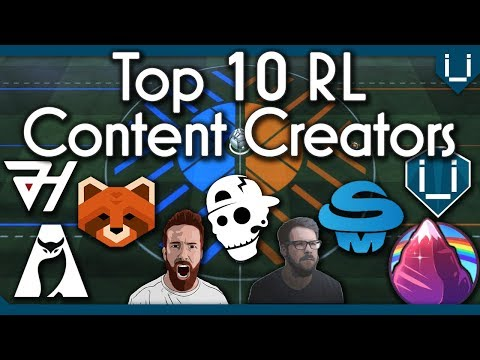 Top 10 Rocket League Content Creators of the Past Year thumbnail