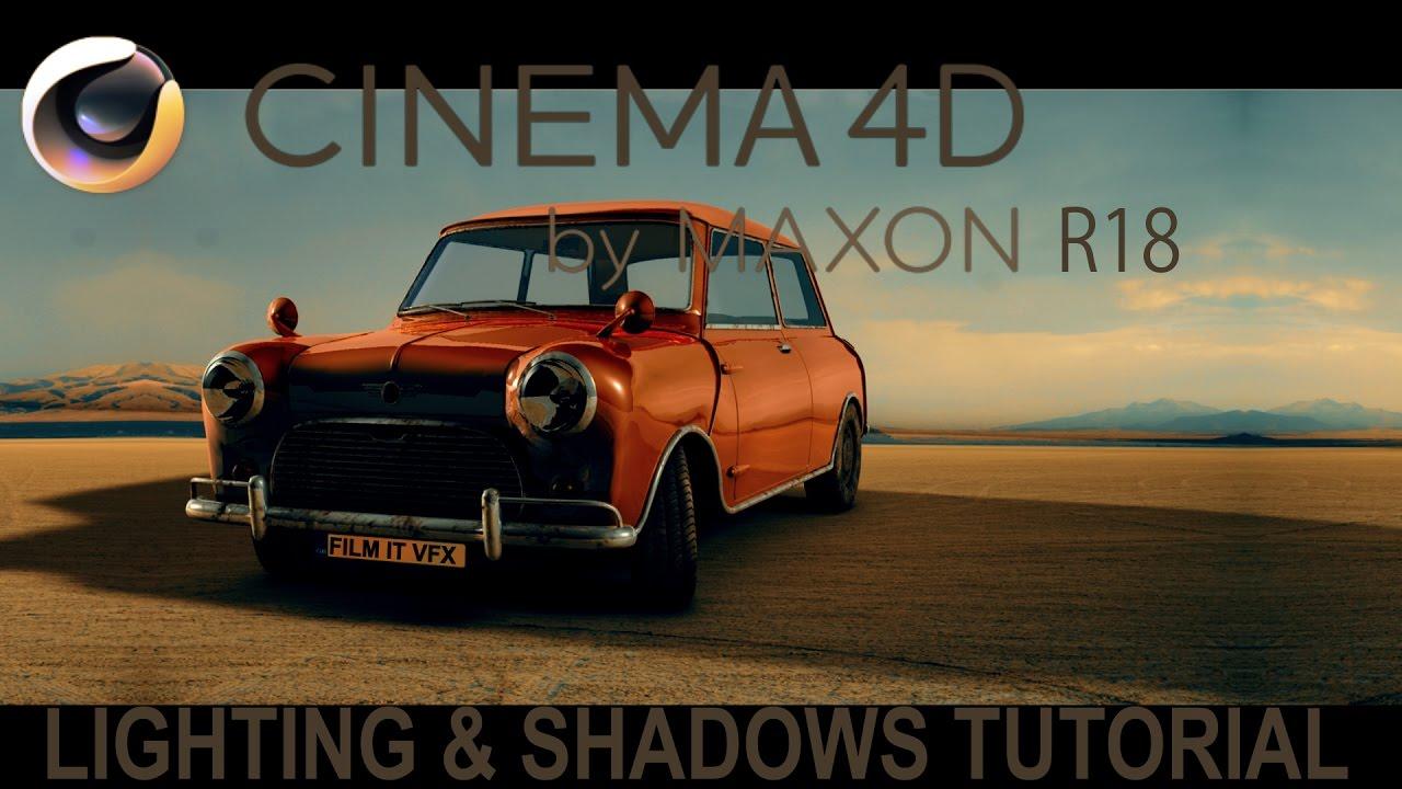 4d Shadow: Cinema 4D R18 Lighting & Shadows Tutorial