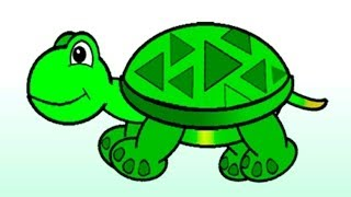 Розвиваючі мультики для самих маленьких - Малюк і Зелена Черепашка