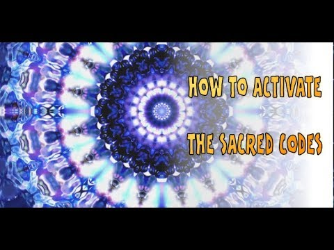 How to activate the Sacred Codes - Sacred Geometry Symbols