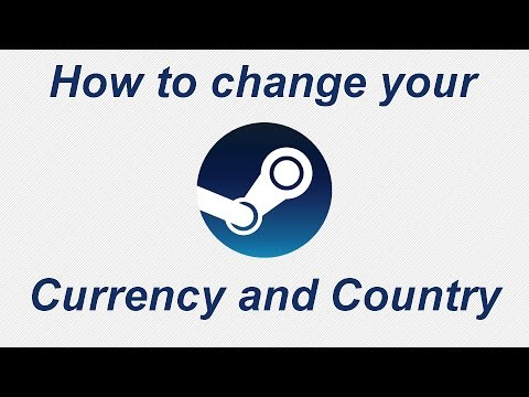 How to change currency on Steam