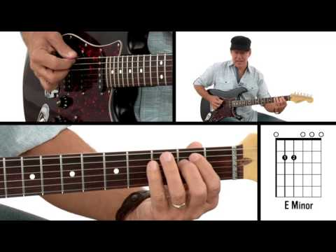 How to Play Guitar #3 - E Minor Chord - Beginner Guitar Lesson - YouTube
