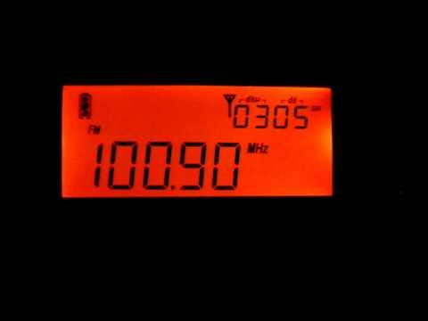 DX FM  - Medianeira FM 100.9 MHz - Santa Maria/RS