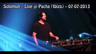 SOLOMUN Live 2013 (Pacha Ibiza)