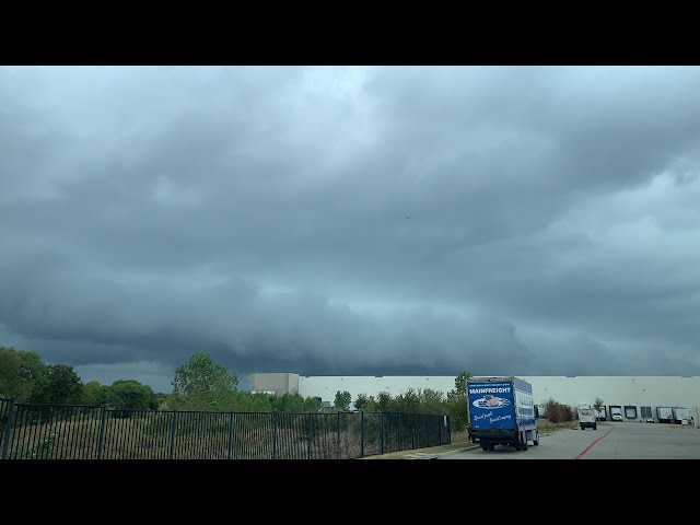 LIVE Fort Worth, TX Area Thunderstorms