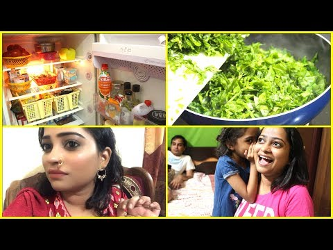 Indian mom Fridge Tour - Few hours at My Mom House, Brother Wedding Shopping, Daily Dinner Routine