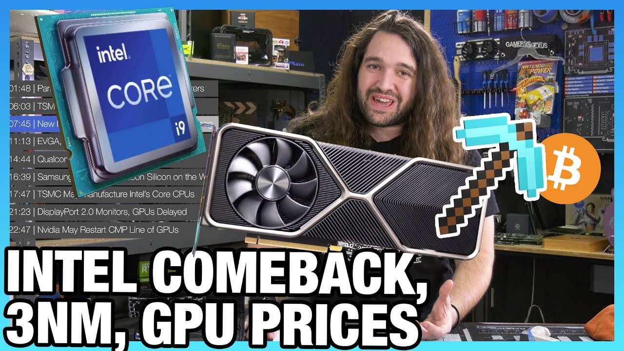 Download HW News - Intel Prepping Comeback, TSMC 3nm Silicon, Radeon GPUs in Phones, NVIDIA Mining GPUs