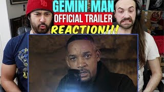 GEMINI MAN - Official TRAILER REACTION!!!