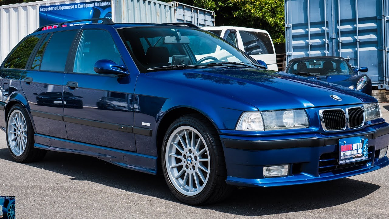 hight resolution of walk around test drive 1999 bmw e36 328i touring motorsport edition jdm car auctions