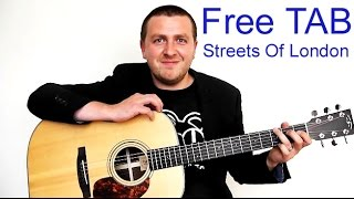Streets Of London - Guitar Lesson - Ralph McTell - Drue James