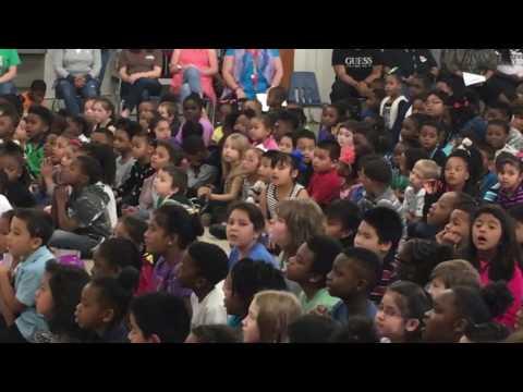 Altama Elementary School Black History Month ceremony