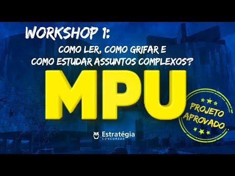 Como estudar para MPU? | Projeto Aprovado MPU: Ep.1