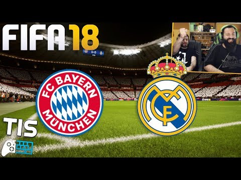 Bayern Munich - Real Madrid | 25/4/2018 - FIFA 18