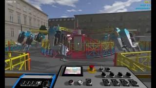 Simulation de manège sur Ride  Control ! Le HyperDrive ! [FR][HD]