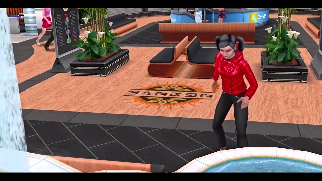 The sims freeplay glitz and glam gameplay teaser youtube for How to make a second floor on sims freeplay