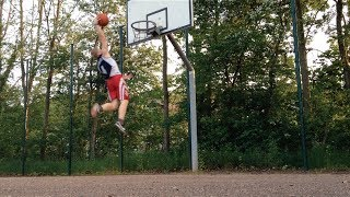 vuclip 5'7'' White Kid Dunks After 6 Months Of Training