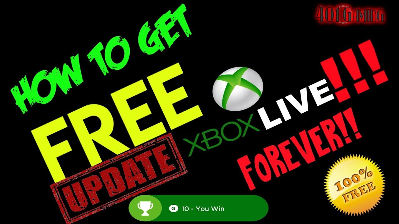 🔴WORKING AS OF JULY 2019! 100% FREE XBOX LIVE GOLD, GAMES AND GIFT CARDS!!