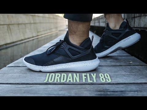 0b931a39bb4 Jordan Fly 89 Sneaker Review - YouTube
