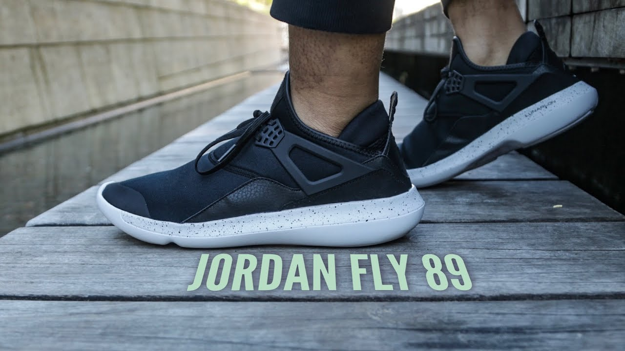 35f3bb69083 Jordan Fly 89 Sneaker Review - YouTube