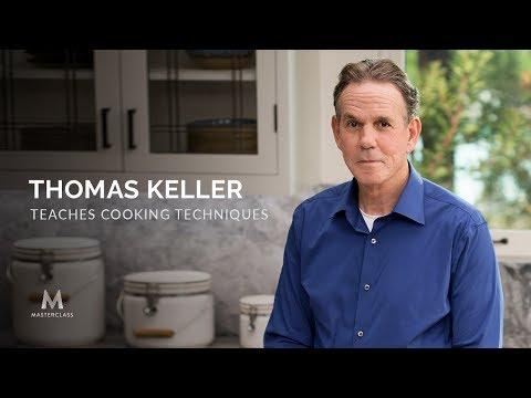 Thomas Keller Dạy Kỹ Thuật Nấu Ăn Trên Lớp Học Bậc Thầy I