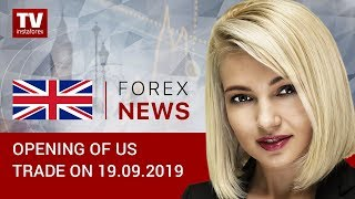 InstaForex tv news: 19.09.2019:American dollar remains unaffected by US statistics (EUR, USD, CAD)