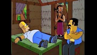 СИМПСОНЫ #24 ЛУЧШИЕ МОМЕНТЫ Гомера взяли в заложники!