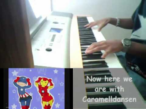 Caramelldansen (English Lyrics) Speedycake Remix (Piano Cover)
