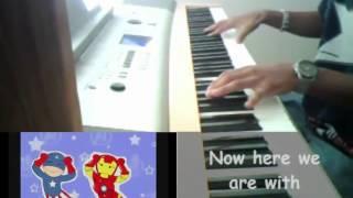 Caramelldansen (English Lyrics) Speedycake Remix (Piano Cover)