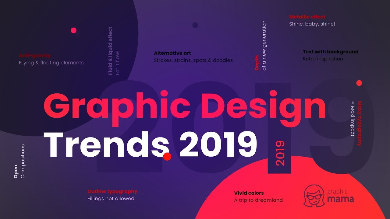 Top Graphic Design Trends 2019: Fresh Hot & Bold on Behance