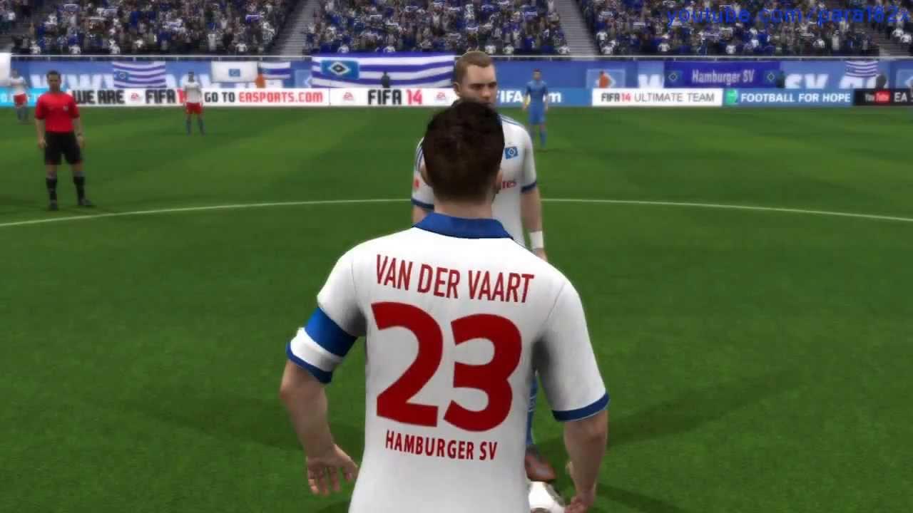 Hamburger SV: FIFA 14: Hamburger SV Player Faces