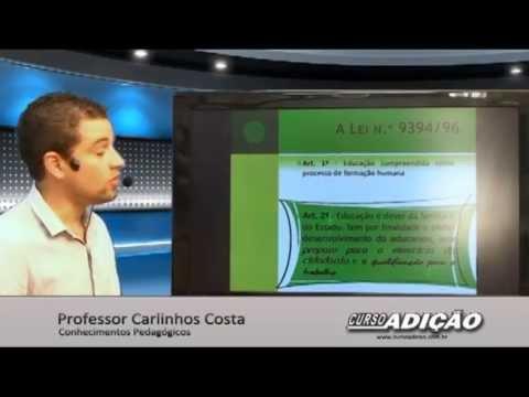 Conhecimentos Pedagógicos - Carlinhos Costa - Parte 1 | Curso Adição