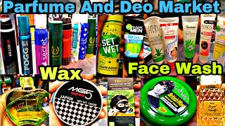 Wholesale Parfume/Condom/Deo/hair Wax/Face Wash,/Charcoal mask Wholesale Market Sader Bazar