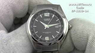 Мужские японские наручные часы Casio EF-121D-1A(Подробное описание: http://www.alltime.ru/catalog/watch/374/casio-edifice/Man/9159/detail.php?ID=60349&back=list., 2013-08-14T14:32:09.000Z)