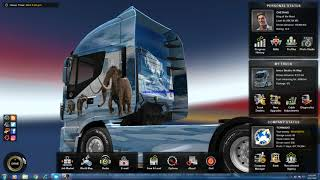 Euro Truck Simulator 2 latest (Special Transport) free download (cracked) With proof (playing)