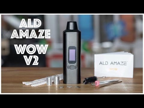 ALD Amaze WOW V2 Portable Vaporizer Review