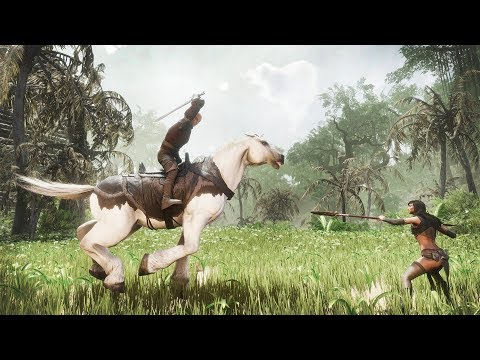 В Conan Exiles уже в этом году будет добавлена система верхового боя
