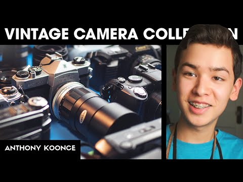 My 2019 Camera Collection Tour // Anthony Koonce
