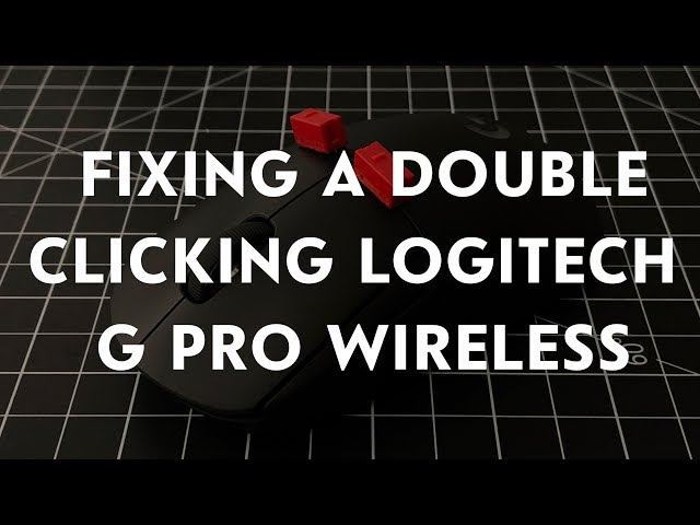 Fixing and upgrading a double clicking G Pro Wireless! Soldering in new Kailh GM4 switches!