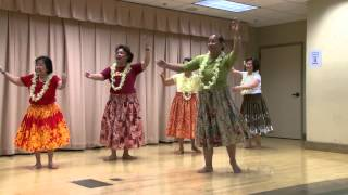 Hula for Exercise at the Concord Senior Center in Concord, California