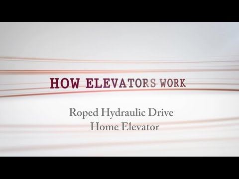 Roped Hydraulic Residential Elevator   How does it work
