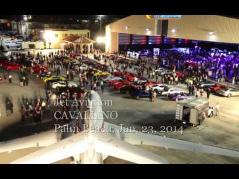 CAVALLINO 2014 Jet Aviation, Palm Beach