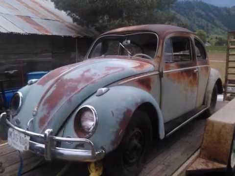 1958 VW BUG Barn Find - YouTube