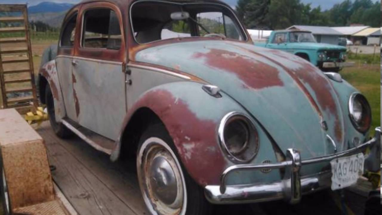 1958 Vw Bug Barn Find