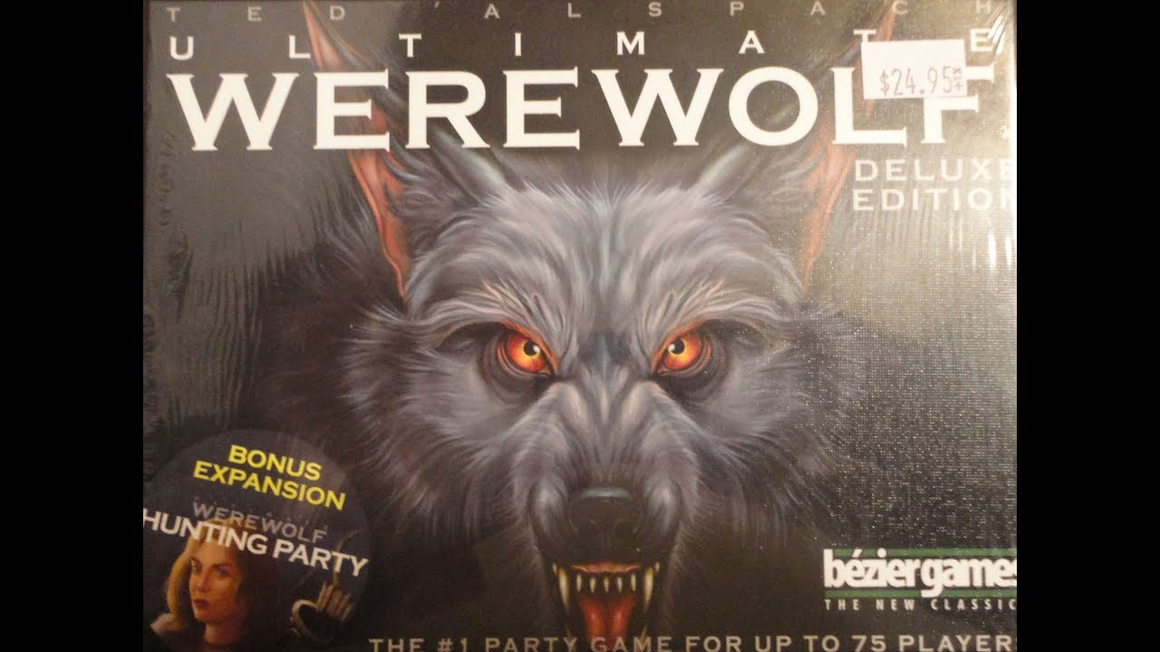 What's Inside - Ultimate Werewolf Board Game (2017, Bezier Games)